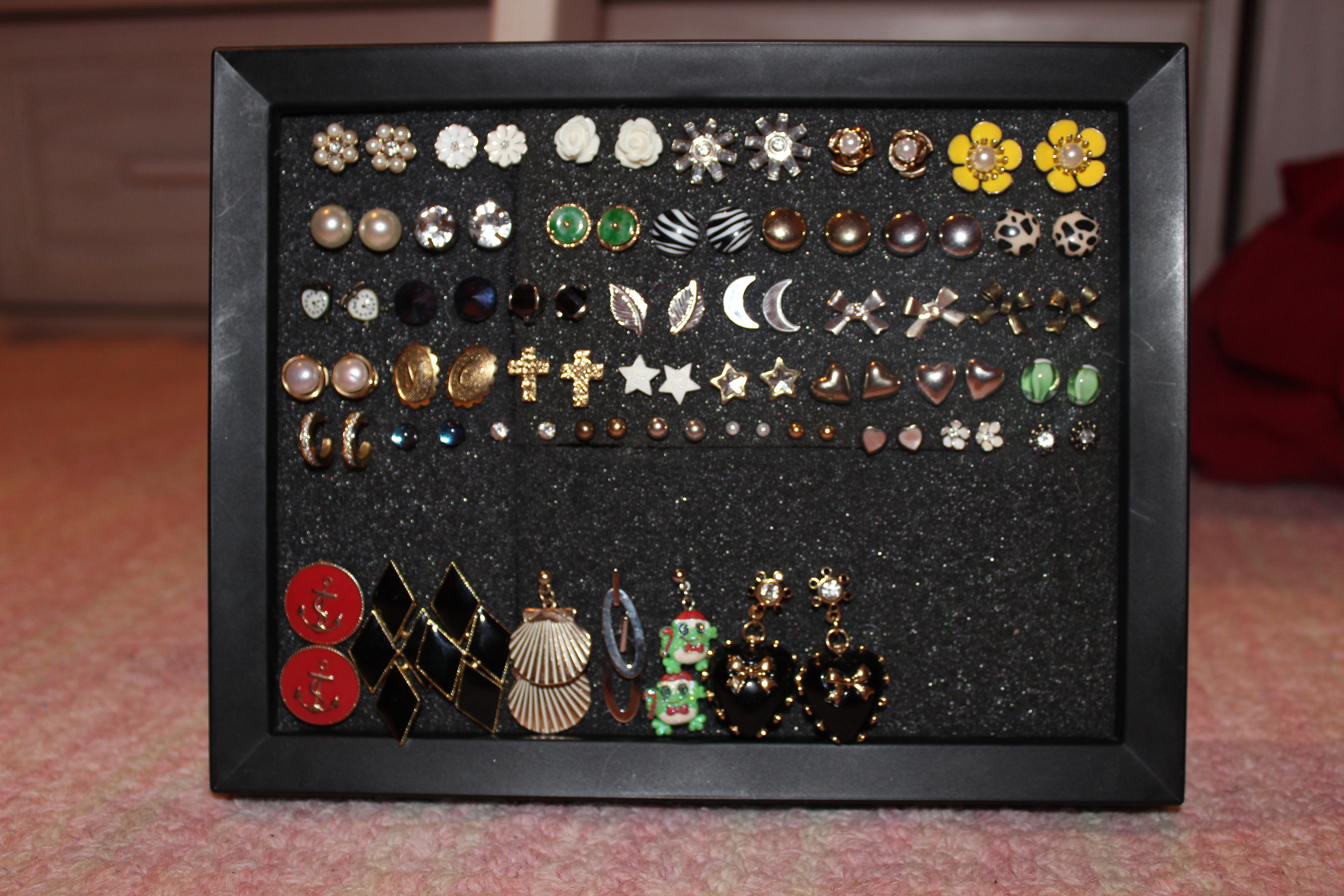 D I Y How To Store Your Post Back Earrings Fash N Furious